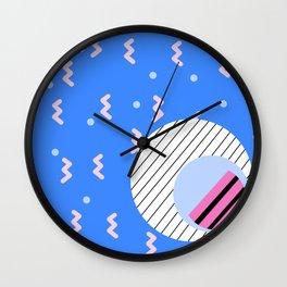 Memphis 3 Wall Clock