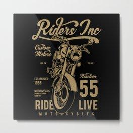 Riders Metal Print