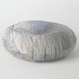 Rabbit Fur Floor Pillow