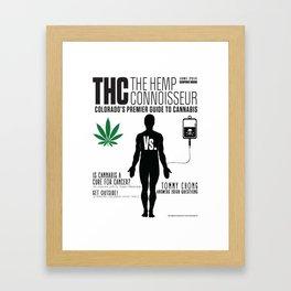 THC Cancer Framed Art Print