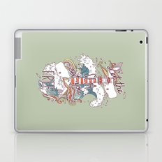 Whales and Waves Laptop & iPad Skin