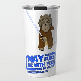 Frod0 the Sheltie: May the Furs Be With You (Luke) Travel Mug