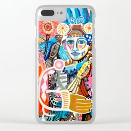 High Spirited Clear iPhone Case