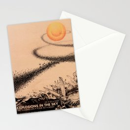 Fan-made Explosions Gig poster Stationery Cards