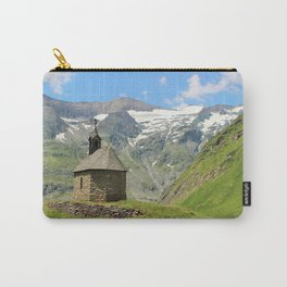 Church in the mountains Carry-All Pouch