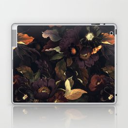 Vintage & Shabby Chic - Flowers at Night Laptop & iPad Skin