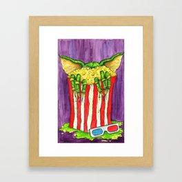 Be Careful What You Eat Framed Art Print