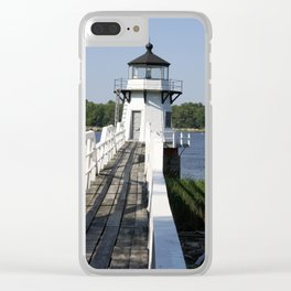Doubling Point Light Clear iPhone Case