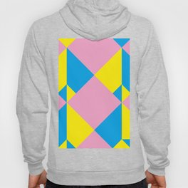 Cool polygons, and squares, and things that looks 3d but they aren't, and tiny mistakes in R corner. Hoody