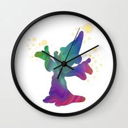 Let the Magic begin Wall Clock