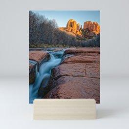 Cathedral Rock Sunset Sedona Arizona Southwest USA Landscape Mini Art Print
