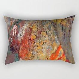 "Odilon Redon ""A Boat"" Rectangular Pillow"