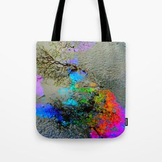 Urban Rainbow Tote Bag