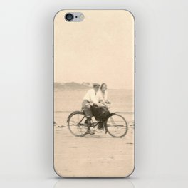 Love on a Bicycle iPhone Skin