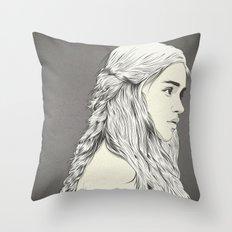 D T Throw Pillow