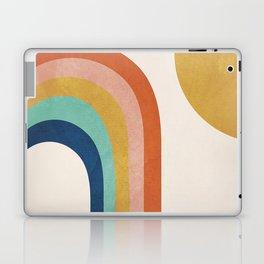 The Sun and a Rainbow Laptop & iPad Skin