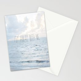 Fly Away With Me III Stationery Cards
