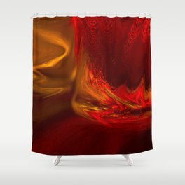 Evening Cocktails Shower Curtain
