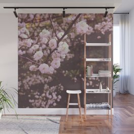 Soft Pink Blossoms Wall Mural