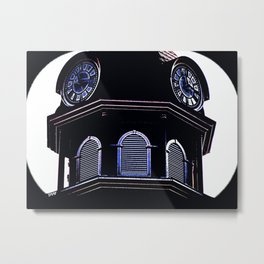 Clock Tower 818 Metal Print