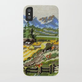 Found Tapestry Landscape iPhone Case