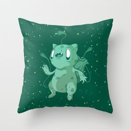 BULBA // POCKET MONSTERS Throw Pillow