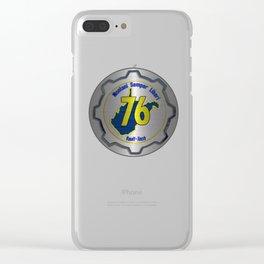 Montani Semper Liberi-76 Clear iPhone Case