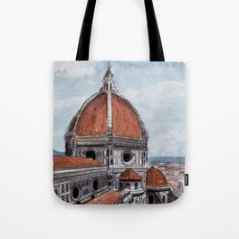 The Duomo-Florence Tote Bag