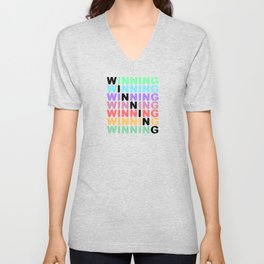 WINNING - Color Expression Unisex V-Neck