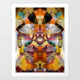 88-34-63-83-32-55 Art Print