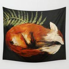 Fox Folk Wall Tapestry