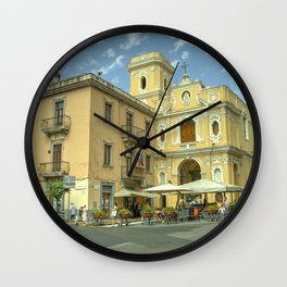 Sorrento Santuario del Carmine  Wall Clock