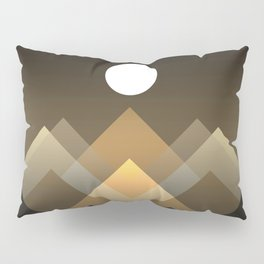 Path between hills Pillow Sham