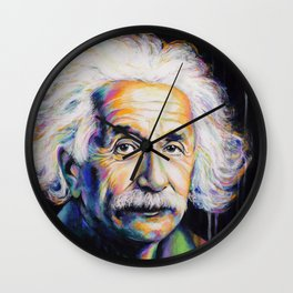 Albert Einstein Wall Clock