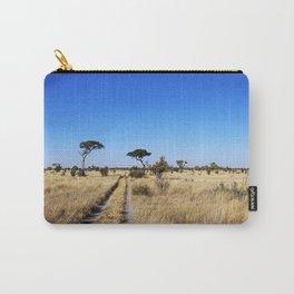 Path through Africa - Central Kalahari, Botswana Carry-All Pouch