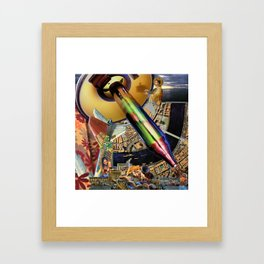 This Is No Time For Shadow Puppets Framed Art Print