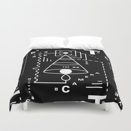 The Harsh Truth Of The Camera Eye Duvet Cover