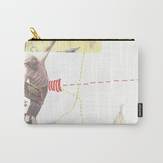 """going nowhere fast"" Carry-All Pouch"