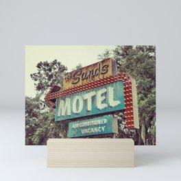 Sands Motel Mini Art Print
