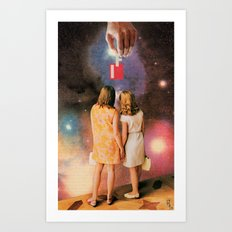 If 01: Witnesses to the Creation of Possibility Art Print