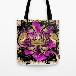 My Empire Collection Summer Set purple Flowers Tote Bag