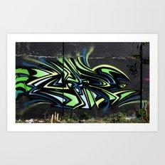 free flow Art Print