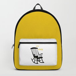 You rock - rockingchair Backpack