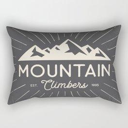 Retro Mountains Rectangular Pillow
