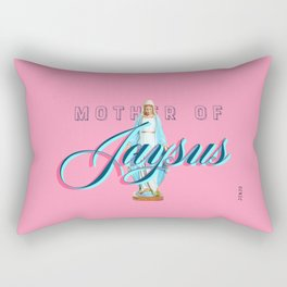 Mother Of Jaysus Rectangular Pillow