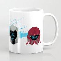 pacific rim Mugs featuring Pacific Rim: Kaiju Kill Count by MNM Studios