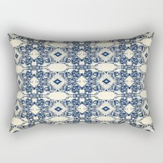 Antique Screaming Skulls Rectangular Pillow