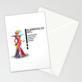 INTJ Elementalistist  Stationery Cards