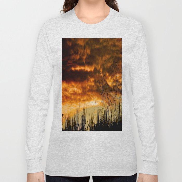 When Storm & Sunset Meet Long Sleeve T-shirt