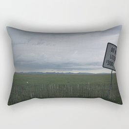Care for our land Rectangular Pillow